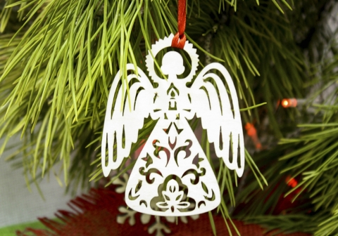 Фото поделок на елку ангелы
